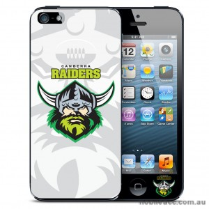NRL Licensed Canberra Raiders Watermark Back Case for iPhone 5/5S