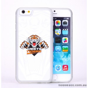 Licensed NRL Wests Tigers Back Case for iPhone 6/6S - White