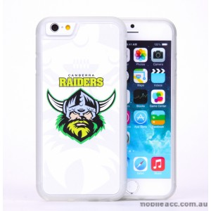 Licensed NRL Canberra Raiders Back Case for iPhone 6/6S - White