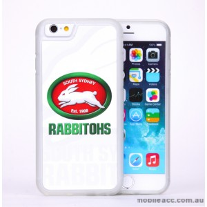 Licensed NRL South Sydney Rabbitohs Back Case for iPhone 6/6S - White