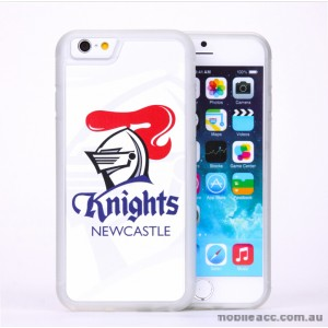 Licensed NRL Newcastle Knights Back Case for iPhone 5/5S/SE - White