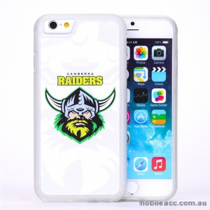 Licensed NRL Canberra Raiders Watermark Back Case For iPhone 7