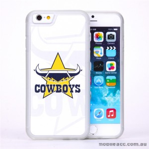 Licensed NRL Queensland Cowboys Watermark Back Case For iPhone 7