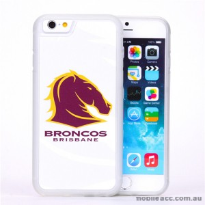 Licensed NRL Brisbane Broncos Watermark Back Case For iPhone 7