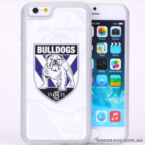 Licensed NRL Canterbury Bankstown Bulldogs Watermark Back Case For iPhone 7