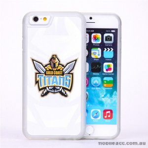 Licensed NRLGold Coast Titans Watermark Back Case For iPhone 7