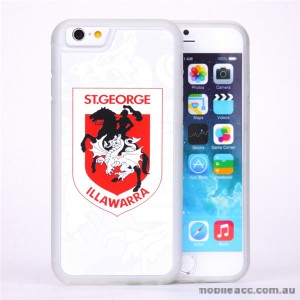 Licensed NRL St. George Illawarra Dragons Watermark Back Case For iPhone 7