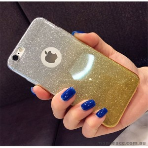 Bling Simmer TPU Gel Case For iPhone 6/6S - Gold