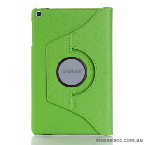 360 Degree Rotary Flip Case for Samsung Tab A 8.0  T290  Green