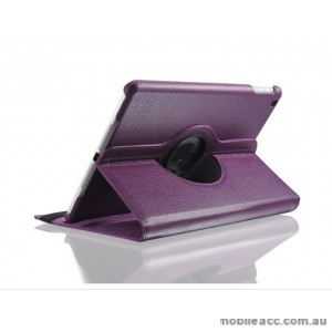 360 Degree Rotary Flip Case for Samsung Tab A 8.0  T290  Purple