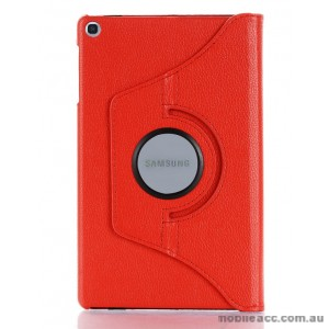 360 Degree Rotary Flip Case for Samsung Tab A 8.0  T290  Red