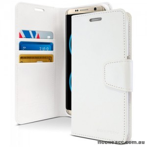 Korean Mercury Sonata Wallet Case For Note 10 Plus  White