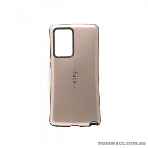 ifaceMall  Anti-Shock Case For Samsung Note 20 Ultra 6.9inch  Rose Gold