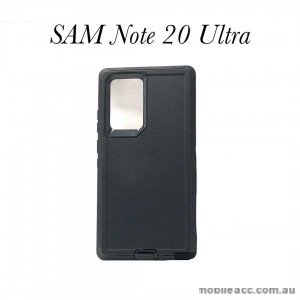 Anti Shock Heavy Duty  Case Cover For Samsung Note 20 Ultra  Black