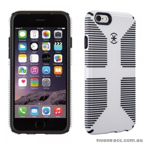Genuine Speck CandyShell Grip Case for iPhone 6+/6S+  - White/Black
