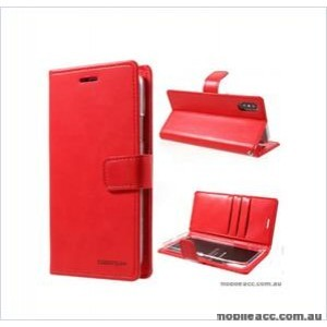 Korean Mercury Bluemoon Diary Wallet Case ForSamsung S20 Plus  6.7 inch  Red