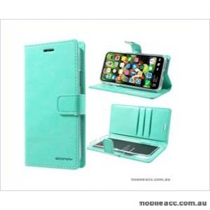 Korean Mercury Bluemoon Diary Wallet Case ForSamsung S20 Plus  6.7 inch  Mint Green