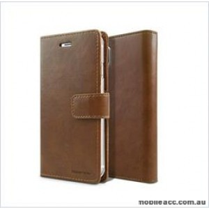 Korean Mercury Bluemoon Diary Wallet Case ForSamsung S20 Plus  6.7 inch  Brown