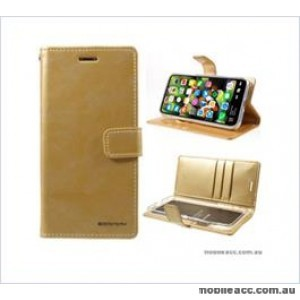 Korean Mercury Bluemoon Diary Wallet Case ForSamsung S20 Plus  6.7 inch  Gold