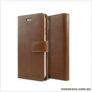 Korean Mercury Bluemoon Diary Wallet Case ForSamsung S20 6.2 inch  Brown