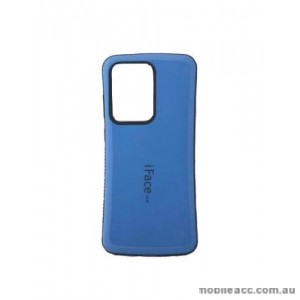 ifacMall Anti-Shock Case For Samsung S21 Ultra 6.8 inch  Blue