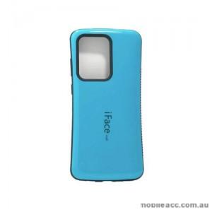 ifacMall Anti-Shock Case For Samsung S21 Ultra 6.8 inch  Aqua