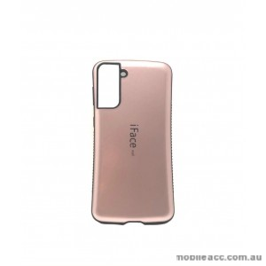 ifacMall Anti-Shock Case For Samsung S21 Plus 6.7 inch  Rose Gold