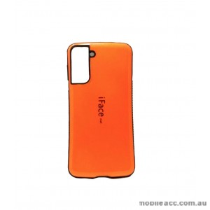 ifacMall Anti-Shock Case For Samsung S21 Plus  Orange