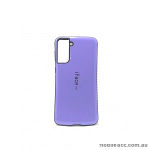 ifacMall Anti-Shock Case For Samsung S21 6.2 inch  Purple
