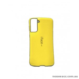 ifacMall Anti-Shock Case For Samsung S21 6.2 inch  Yellow