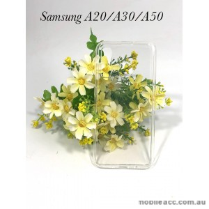 Soft Case For Samsung  Galaxy  A20 / A30/ A50 Clear
