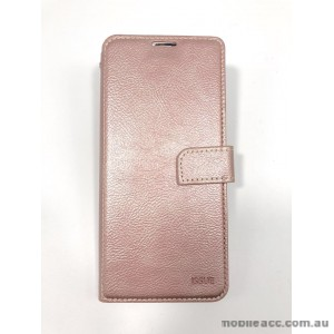 Hana  Wallet Case For Samsung  Galaxy  A20 / A30 Rose Gold