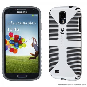 Genuine Speck CandyShell Case for Samsung Galaxy S4 - White/Black