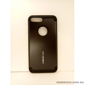 KOREAN ANY SHOCK LAYER GUARD CASE FOR iPhone 7 Plus - Black