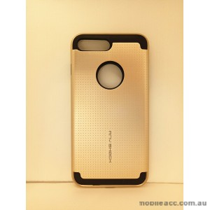 KOREAN ANY SHOCK LAYER GUARD CASE FOR iPhone 7 Plus - Gold