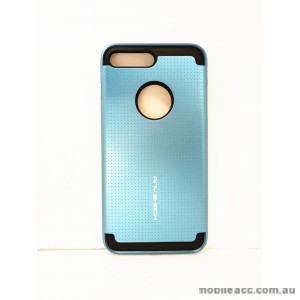 KOREAN ANY SHOCK LAYER GUARD CASE FOR iPhone 7 Plus - Teal