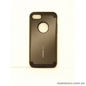 KOREAN ANY SHOCK LAYER GUARD CASE FOR iPhone 7 - Black