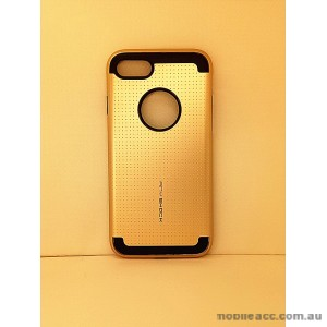 KOREAN ANY SHOCK LAYER GUARD CASE FOR iPhone 7 - Gold