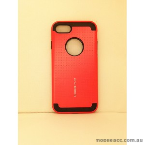 KOREAN ANY SHOCK LAYER GUARD CASE FOR iPhone 7 - Red