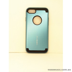 KOREAN ANY SHOCK LAYER GUARD CASE FOR iPhone 7 - Teal