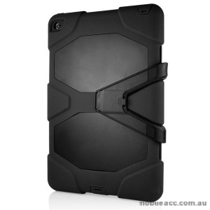 TOUGH CASE FOR IPAD MINI 4 WITH SURVIVOR WITH STAND - Black