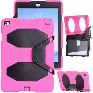TOUGH CASE FOR IPAD MINI 4 WITH SURVIVOR WITH STAND - Hot Pink