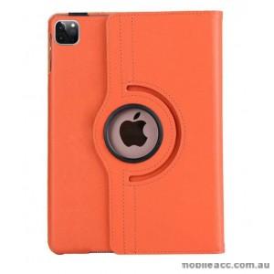 360 Degree Rotating Case for Apple iPad Pro 12.9 inch 2020  Orange