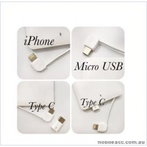3in 1 Power bank For Universal phone/ ipad 4000 mAh White