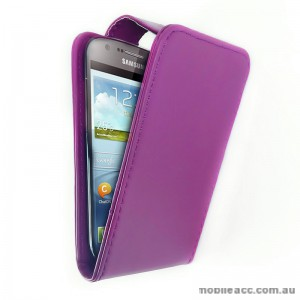 Samsung Galaxy Express i8730 Flip Case - Purple