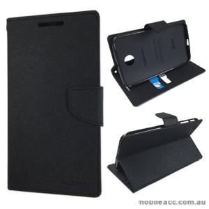 Korean Mercury Fancy Diary Wallet Case Samsung Galaxy Tab 3 8.0 - Black