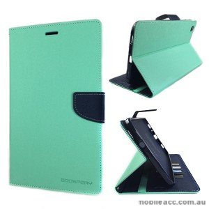 Korean Mercury Fancy Diary Wallet Case Samsung Galaxy Tab 3 8.0 - Green