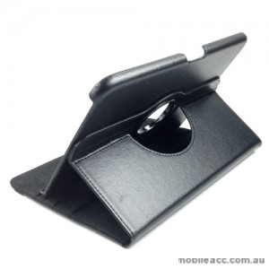360 Degree Rotary Case Cover for Samsung Galaxy Tab 3 10.1 - Black
