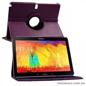 360 Degree Ratary Case for Samsung Galaxy Note 10.1 P605 (2014 Edition) - Purple