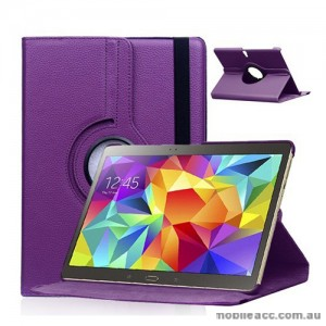 360 Degree Rotating Case for Samsung Galaxy Tab S 10.5 - Purple